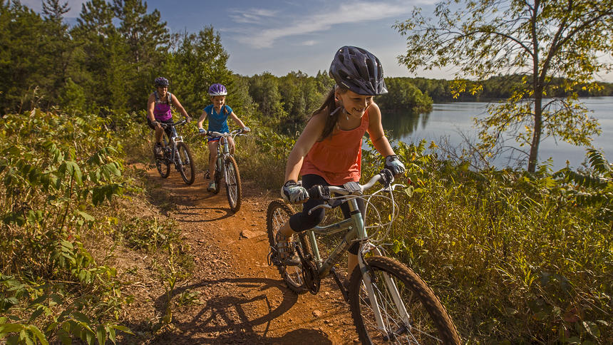 August Adventure Mania Youth Mountain Biking Camping Trip To