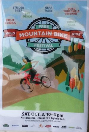 Wild Ride Mountain Bike Festival flyer 2015