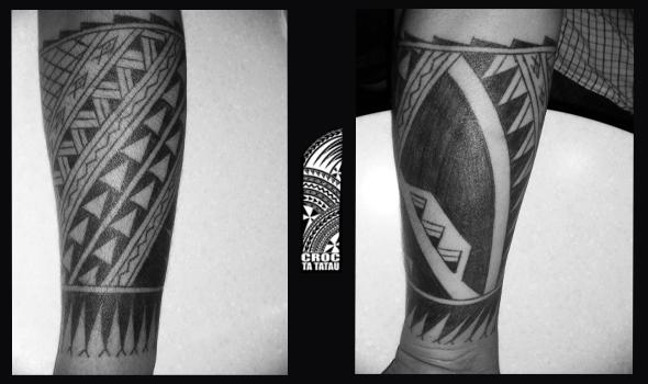 samoan style forearm croctatau