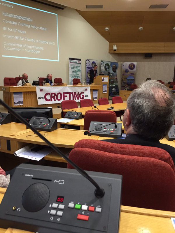 Future of Crofting Conference - Brian Inkster - The Sump