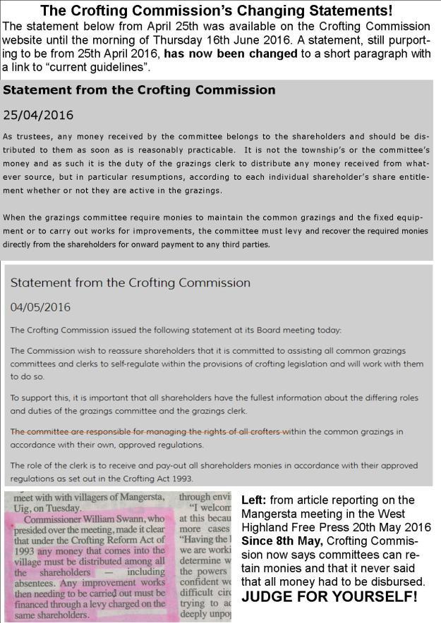 Crabbit Crofter - Crofting Commission Deletes its History