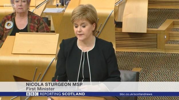 Nicola Sturgeon MSP - First Minister - Crofting Commission crisis