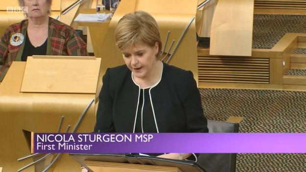 Sunday Politics Scotland - Crofting Commission Crisis - Nicola Sturgeon MSP - First Minister