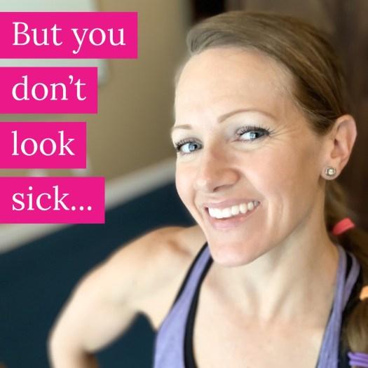 steph smiling despite battling chronic invisible illness