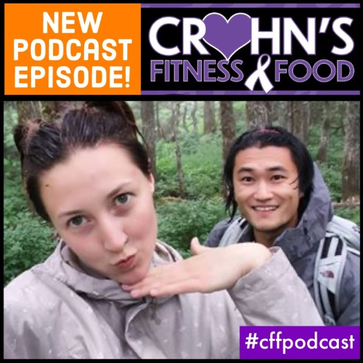 Crohn's Fitness Food Podcast cover photo of Alysa Johnsen