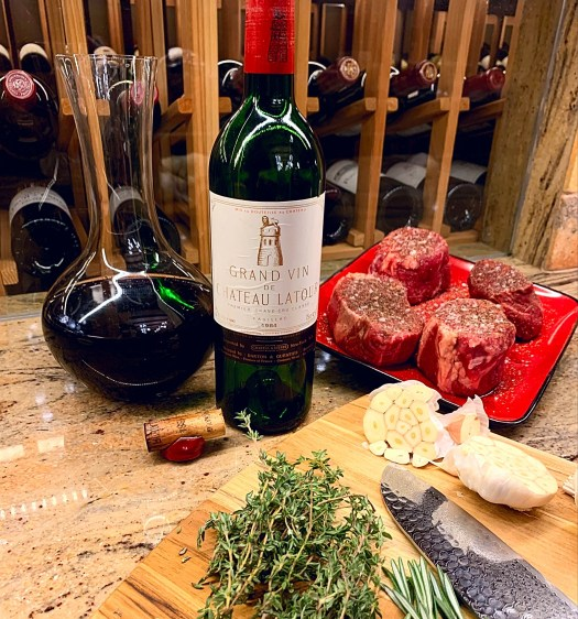 Picture of Steak and Wine Dinner