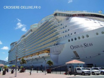 Oasis of the Seas à St Thomas pier