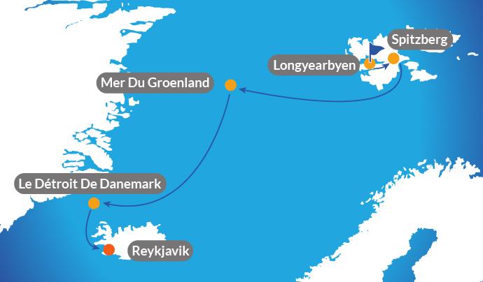 croisi re sur les 3 les arctiques islande groenland et spitzberg. Black Bedroom Furniture Sets. Home Design Ideas