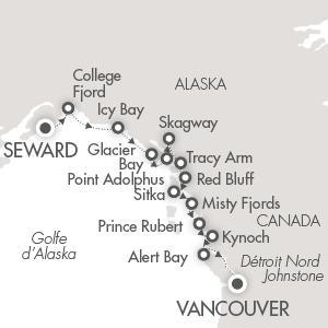Mini-croisière à bord du Soléal de Vancouver à la Colombie-Britannique
