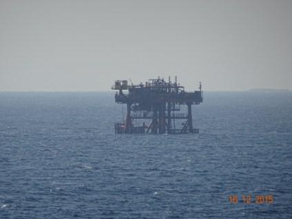 Plateforme pétrolière en Mer Rouge