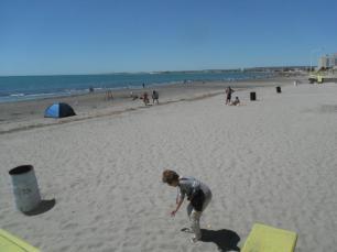 Puerto Madryn- Plage