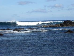 Escale a l Île de Pâques les ecueils