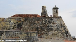 Escale à Cartagena en Colombie forteresse de San Felipe 2