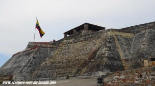Escale à Cartagena en Colombie vue de la forteresse de San Felipe 5