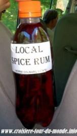 Le Rhum local artisanal
