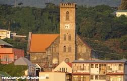 Escale à St Georges île de la Grenade l'église du village