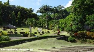 Escale à St Georges île de la Grenade visite de l'usine de cacao