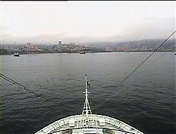 Croisière tour du monde Australe 2017 Webcam Costa Luminosa Escale à Valparaiso Chili