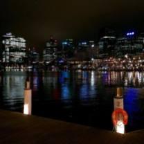 Croisière tour du monde Australe 2017 visite de Sydney la nuit