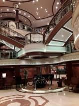 L'atrium du Queen Victoria