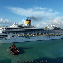 Tour du monde Queen Victoria 2018 Escale à la Barbade