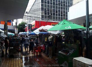 Visite de la ville sous la pluie Fortaleza