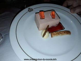 dessert au Queen Victoria