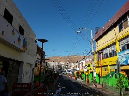 Escale à Arica au Chili