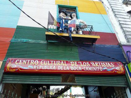 Escale à Buenos Aires en Argentine La Boca
