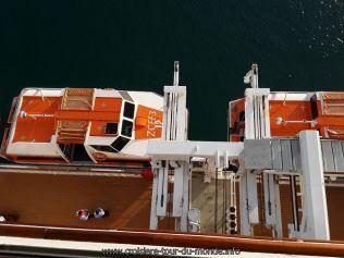 Escale à Buzios au Brésil embarquement dans les chaloupes
