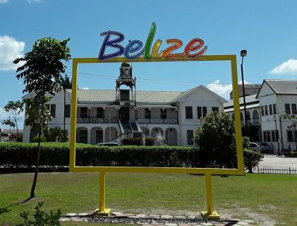 Escale à Belize city au Belise