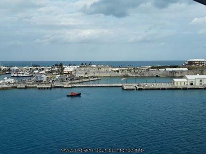 Escale à Hamilton aux Bermudes