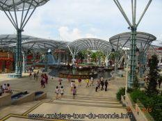 Croisière tour du monde Escale à Singapour Santosa Island