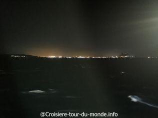 Croisière tour du monde 2019 Journée en mer entre Barcelone et Casablanca