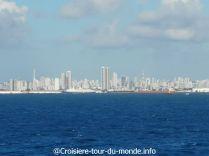 Croisière tour du monde 2019 escale à Recife