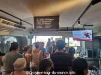 Croisière tour du monde 2019 escale à Rio de Janeiro J2