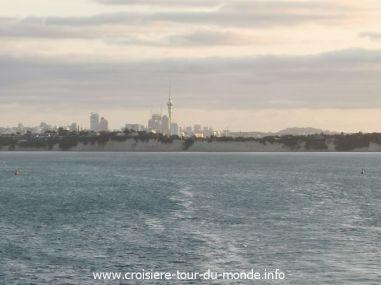 Croisière tour du monde 2019 Auckland Nouvelle Zélande