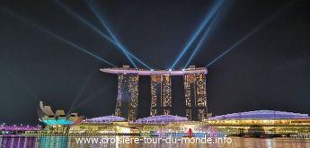 Croisière tour du monde 2019 Escale à Singapour J1