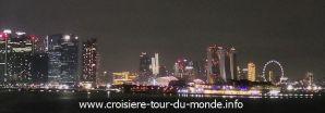 Croisière tour du monde 2019 Escale à Singapour J2