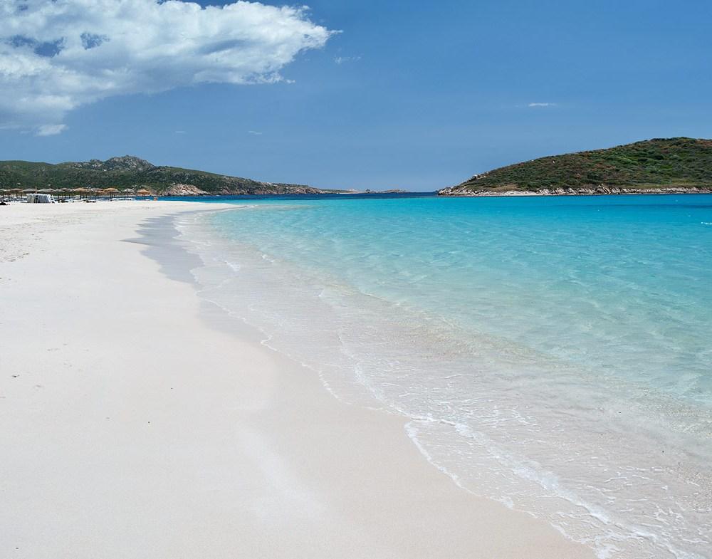 Belle plage de Sardaigne