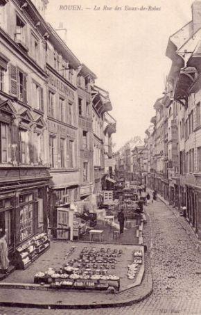 Rue Eau de Robec - angle rue des bouchers