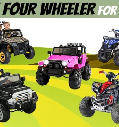 best four wheelers for kids gas powered electric atvs [ 1366 x 768 Pixel ]