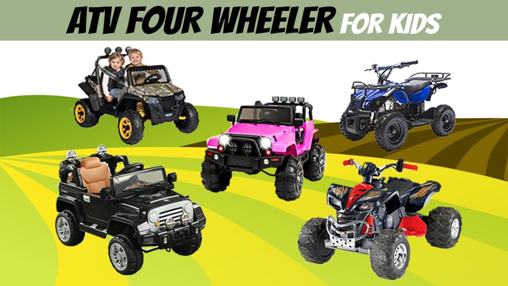 medium resolution of best four wheelers for kids gas powered electric atvs