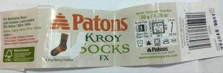PatonsKroySockYarn