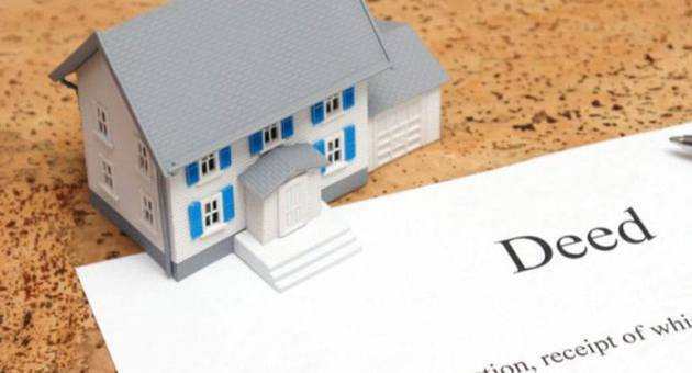 """DEED IN LIEU OF FORECLOSURE"" is locked DEED IN LIEU OF FORECLOSURE"