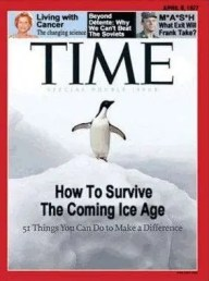 """Time, """"How to Survive the Coming Ice Age"""", 1977"""