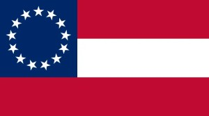 Confederate 1st national flag, Stars and Bars