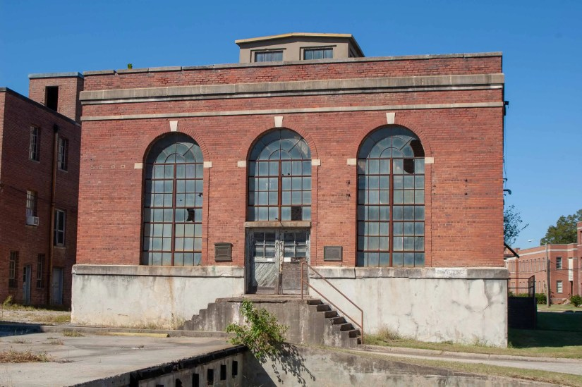 Cherry Hospital power plant front