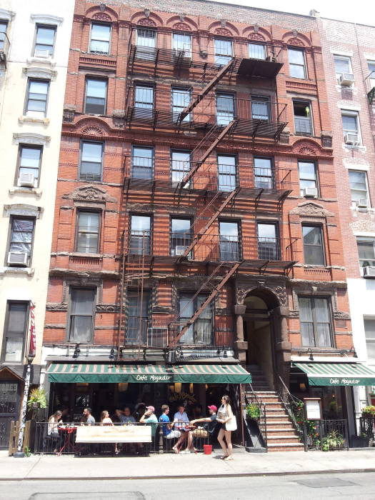 St. Marks Place. 1st Avenue to Avenue A. North Side