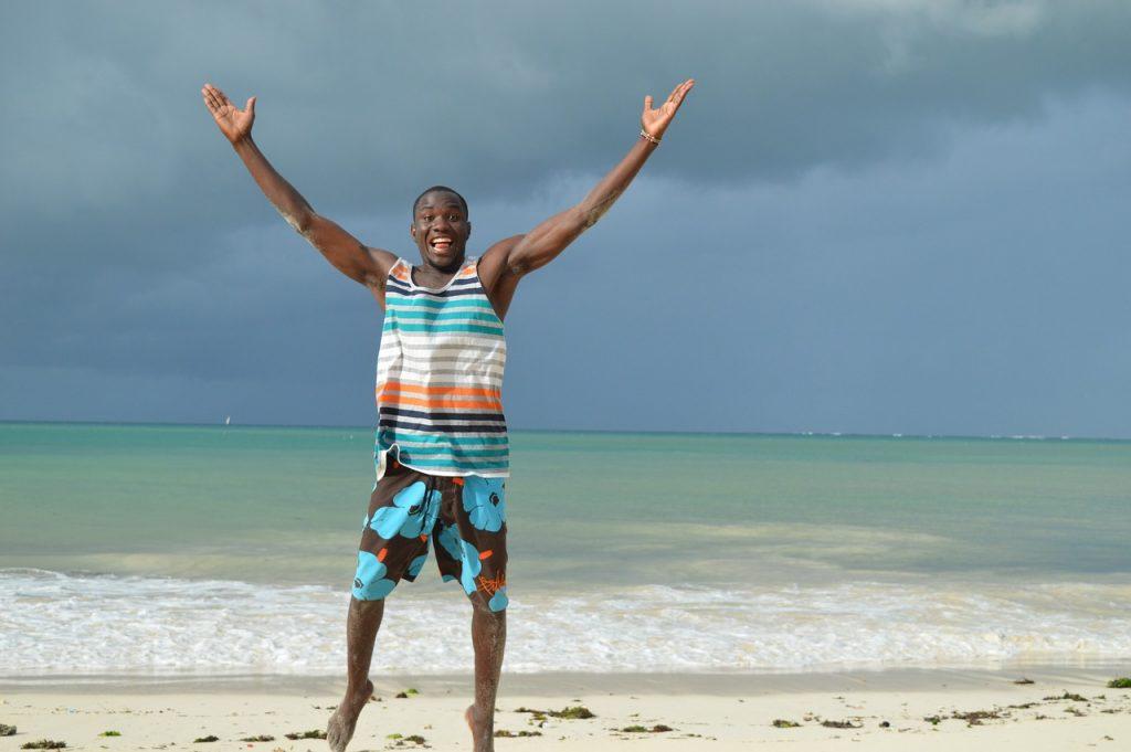 Mare spiaggia Kenya